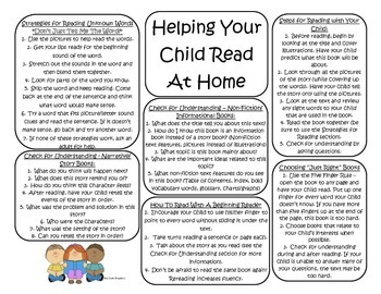 Helping Your Child Read At Home