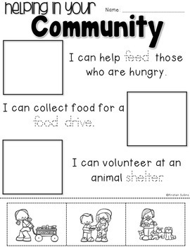 Helping in Your Community