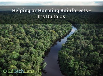 Helping or Harming Rainforests - It's Up to Us PDF