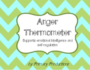 Anger Thermometer: Help for Angry Students
