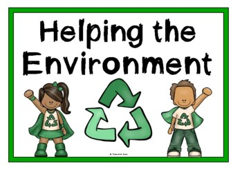 Helping the Environment