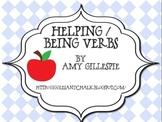 Helping/Being Verbs Freebie