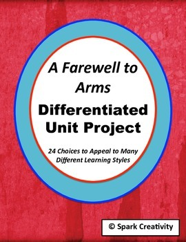 Hemingway's A Farewell to Arms: Differentiated Unit Project