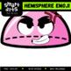 Hemisphere Emoji Clip Art