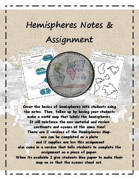 Hemisphere Notes and Assignment