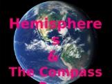 Hemispheres and Compass Rose