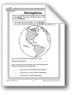 Hemispheres, Longitude, and Latitude