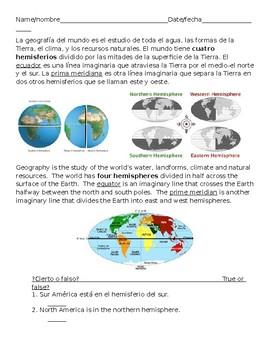 Hemispheres o Hemisferos