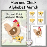 Hen and Chick Alphabet Match