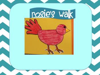 Hen/Rosie's Walk Craft & Writing