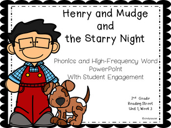 Henry and Mudge and the Starry Night, 2nd Grade, Reading Street, PowerPoint