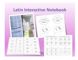 Henle Latin First Year Interactive Notebook Part 1 (Challenge A Aligned)