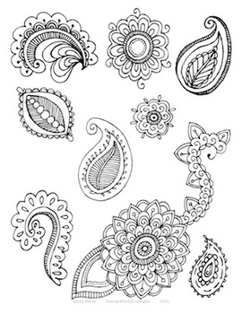 Henna Mehndi Designs Packet