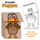 Henny Penny / Chicken Little Paper Bag Puppets
