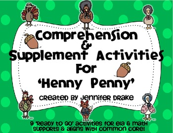 39 Henny Penny 39 Comprehension amp Supplement