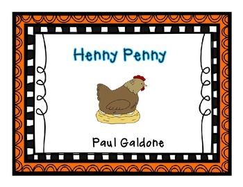 Henny Penny {{Free small group practice pages - Level I}}