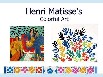 Henri Matisse Art History Powerpoint