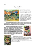 Henri Matisse Article and Graphic Organizer