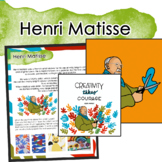 Henri Matisse Artist Portrait, Quote, and Handout/Distance Learning Lesson
