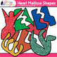 Henri Matisse Shapes Clip Art {Collage Cutout Shapes for A