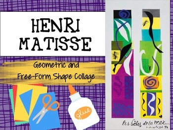 Henri Matisse: Geometric and Free-Form Shape Collage