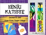 Henri Matisse: Geometric and Free-Form Shape Collage for Distance Learning