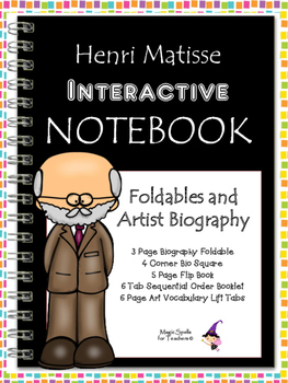 Henri Matisse - Famous Artist Biography Research Project - Interactive Notebook