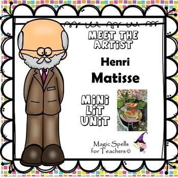 Henri Matisse - Meet the Artist - Artist of the Month - Mini Unit Printables