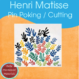 Henri Matisse - Montessori Pin Poking/Cutting