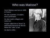 Henri Matisse PowerPoint