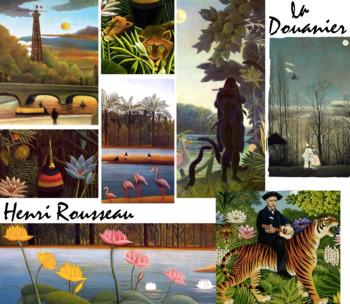 Henri Rousseau Art History - Naïve Symbol Post Impress - Art - FREE POSTER