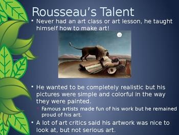 Henri Rousseau Powerpoint