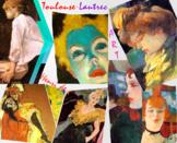 Henri de Toulouse-Lautrec Art SHOW + TEST = 209 Slides - Post Impress Art