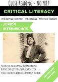 Henrietta Lacks Immortality STEM Close Reading Informational Text No Pack