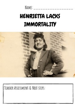 Henrietta Lacks Immortality STEM Close Reading Informational Text No Pack