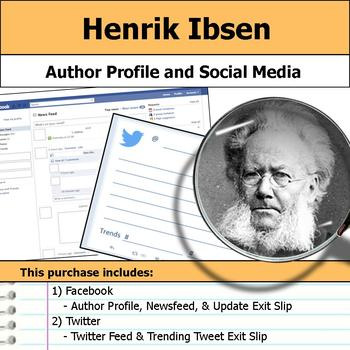 Henrik Ibsen - Author Study - Profile and Social Media