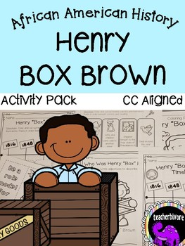 """Henry """"Box"""" Brown Activity Pack"""