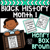 Henry Box Brown Black History Month Activities
