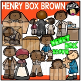 Henry Box Brown Clip Art Set {Educlips Clipart}