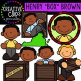 Henry Box Brown Clipart {Creative Clips Clipart}