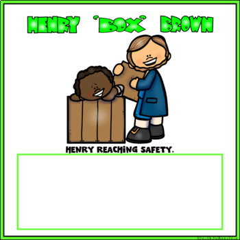 Henry Box Brown Digital Research Project in Google Slides™