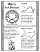 Henry Box Brown Mini-book for Black History Month