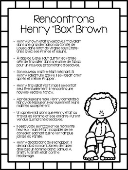 Henry Box Brown (Version française)