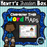 """Henry's Freedom Box Character Trait Graphic Organizers - Henry """"Box"""" Brown"""