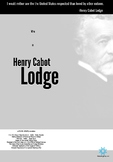 Henry Cabot Lodge Mini Poster (Printer Friendly)