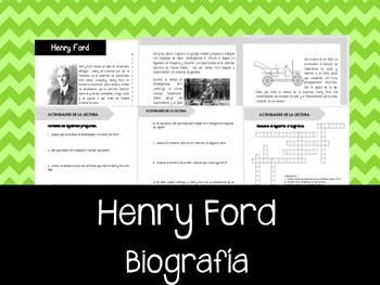 Henry Ford - El inventor
