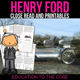 Henry Ford Reading Passage and Activities