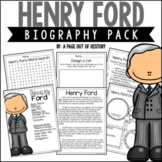 Henry Ford Biography Pack (Famous Inventors)