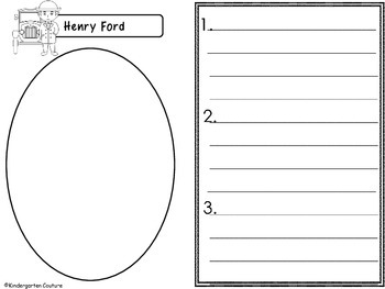 Henry Ford - Graphic Organizers
