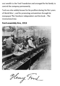 Henry Ford  Handout